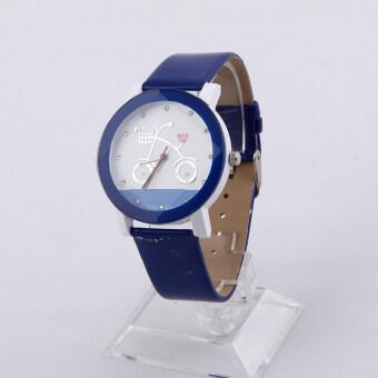 คนขายนาฬิกาเหมือนเค้กร้อนสันทนาการนาฬิกาการ์ตูน (สีน้ำเงิน)
