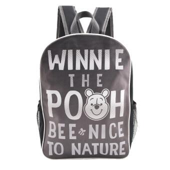 Disney winnie The Pooh กระเป๋าเป้ กระเป๋านักเรียน สะพายหลัง (สีดำ)