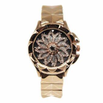 Mashali นาฬิกาข้อมือแบรนด์แท้ รุ่น M-88115-pinkgold