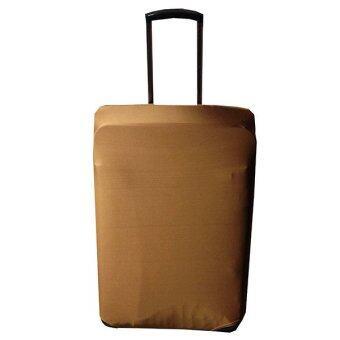 ผ้าคลุมกระเป๋าเดินทางแบบยืด 26'-30' L (สีน้ำตาล)