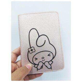 ปกพาสปอร์ต Passport สี Pink Gold ลาย Melody Rabbit