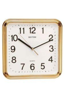 RHYTHM นาฬิกาแขวน รุ่น CMG466-NR18 (GOLD)