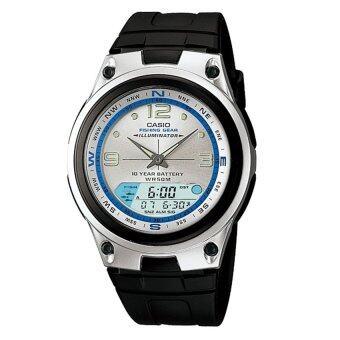Casio Standard Outgear นาฬิกาข้อมือผู้ชาย สายเรซิ่น รุ่น AW-82-7A