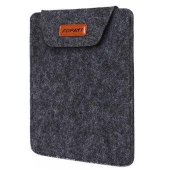 โน้ตบุ๊คอัลตร้าผอมเกร็งเหมือนแขนเสื้อกระเป๋าซองเคสป้องกันกระเป๋าสำหรับ Apple MacBook Pro 33.02ซมยูนิเวอร์แซล 33.02ซมโน้ตบุ๊คสีเทา
