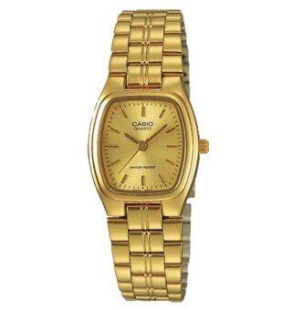 Casio Standard นาฬิกาข้อมือผู้หญิง สายสแตนเลส รุ่น LTP-1169N-9A - Gold