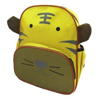 TravelGear24 กระเป๋ารูปเสือ กระเป๋าเป้ เป้เด็ก กระเป๋าหนังสือ กระเป๋าเด็ก กระเป๋าสะพาย สำหรับเด็ก School Children Backpack Bag Rucksack TIGER - สีเหลือง/Yellow