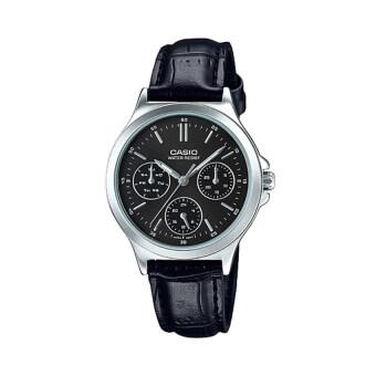 Casio นาฬิกาข้อมือผู้หญิง รุ่น LTP-V300L-1AUDF (สีดำ)