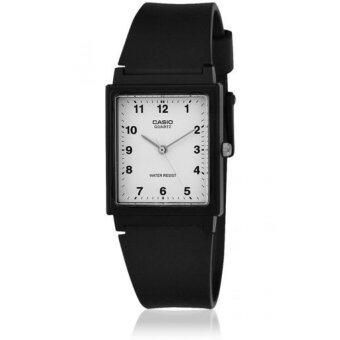 Casio Standard Sport Gent นาฬิกาข้อมือผู้ชาย สีดำ สายเรซิ่น รุ่น รุ่น MQ-27-7BDF