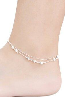 Harga Women 925 Silver Plated Chai Silver - intl