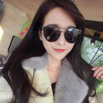 KPshop แว่นกันแดดผู้หญิง แว่นตาแฟชั่น แว่นตาเกาหลี รุ่น LG-057