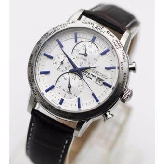 นาฬิกา SEIKO Worldtime SPL051P1 สายหนัง