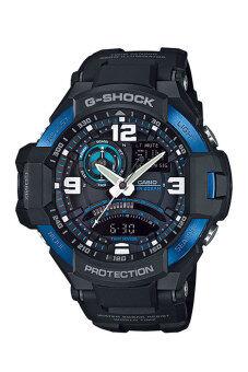Casio G-shock Gravity นาฬิกาข้อมือผู้ชาย สายเรซิ่น รุ่น GA-1000-2B