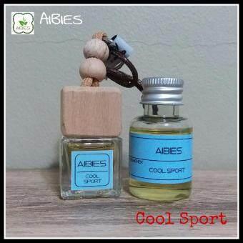 aibies [กลิ่นสปอร์ตสดชื่น] น้ำหอมรถอโรม่า ปลอดแอลกอฮอล์ ขนาด 6 mL + รีฟิล 15 mL