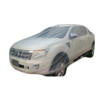 Speed Studio พลาสติกคลุมรถ เก๋งใหญ่/กระบะ size XL