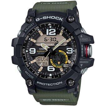 แนะนำ Casio G-Shock Men's Black and Green Resin Strap Watch GG-1000-1A3 ข้อมูล