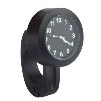 นาฬิกากันน้ำมอเตอร์ไซค์รถจักรยานรถจักรยานยนต์นาฬิกาใส่นาฬิกาอุปกรณ์แม่งสีดำ