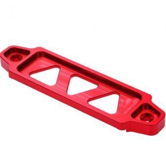 คาดแบตเตอร์รี่ แบตแห้งหรือกึ่งน้ำ ที่หัวเติมไม่ยื่นขึ้นมา ลายสามเหลี่ยม สีแดง ความยาว 14.5 ซม. (RED) 84-racing