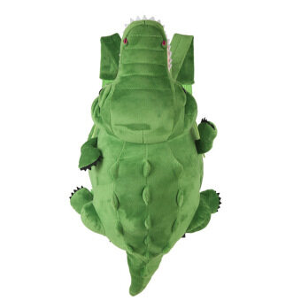 'Kids'' Kindergarten Crocodile Backpack Cute School Bag for 3-8 Years Old Boys or Girls(Color:Green)'