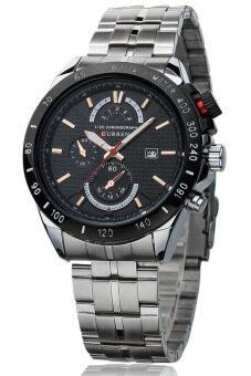 รีวิว Curren นาฬิกาข้อมือสุภาพบุรุษ สีเงิน/ดำ สายสแตนเลส รุ่น C8148 สินค้ายอดนิยม