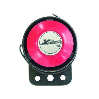 SCH XFlash แตรไซเรน 5 เสียง (ปรับเลือก) DC 12 โวลท์ - Black/Red
