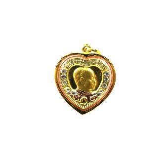 จี้เหรียญทอง ทรงกลม หน้า ร.5(Gold)