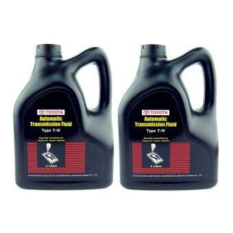 TOYOTA น้ำมันเกียร์ออโต้ T-IV 08886-80905 4 ลิตร (2 แกลลอน)