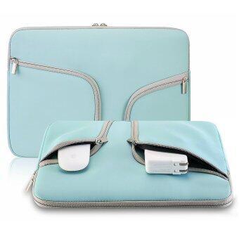 แฟชั่นกระเป๋าถือแล็ปท็อปแขนเสื้อกันน้ำแบบพกพาสำหรับ 39.12ซม Mac Macbook Air Pro Retina HP Dell Acer Asus Lenovo/(38.1ซม นกเป็ดน้ำ) (ในประเทศ)
