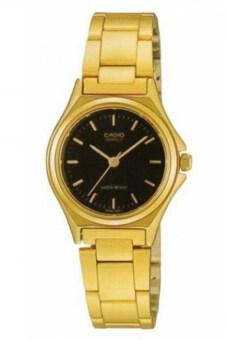Casio นาฬิกาข้อมือ รุ่น LTP-1130N-1ARDF-สีดำ/ทอง