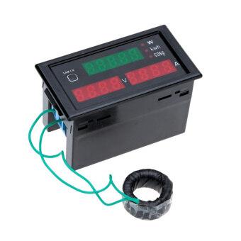 แรงดันไฟฟ้าทดสอบกระแสไฟ Led ดิจิตอลโอมิเตอร์ไฟฟ้าพลังงานพลังงานตรวจสีดำ