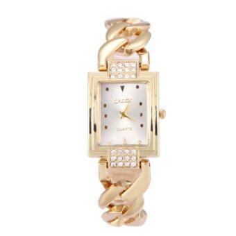 นิวแฟชั่นผู้หญิงทรงนาฬิกาสเตนเลสสร้อยข้อมือนาฬิกาแต่งตัว