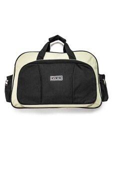 DM กระเป๋าเดินทาง - สีดำ/เหลืองครีม