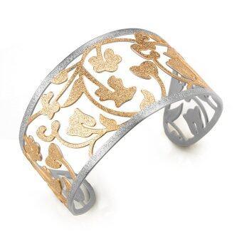 555jewelry กำไล รุ่น FSBG136-C1 (Pink Gold/Steel)
