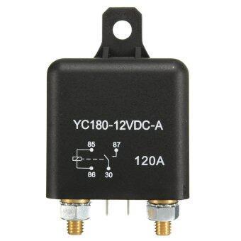 Qiaosha Car Auto Split Charge 12V 120A ON/OFF Relay Switch 4 Pin 4 ราคาถูกที่สุด ส่งฟรีทั่วประเทศ