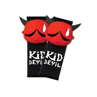 Kid Devil นวมหุ้มเข็มขัดนิรภัย Kid Devil 3D (สีดำแดง) แพคคู่