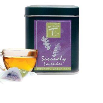 Dazzling-T ชาเขียวลาเวนเดอร์ (Special Blend Green Tea and Lavender Petal)