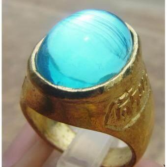 phra mongkol 0006 แหวน เพชรพญานาค.. (สีฟ้า)..