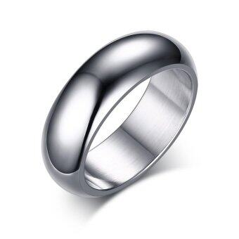 Harga High Quanlity Classic Personality Stainless Steel Mens Ring Party Jewelry - intl