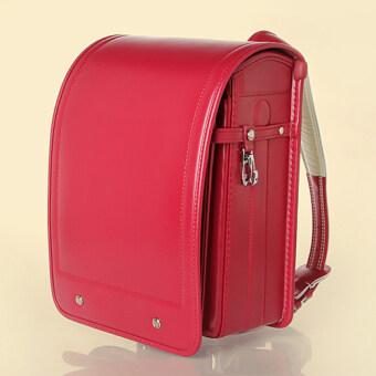 กระเป๋านักเรียนญี่ปุ่น Size M สีแดง