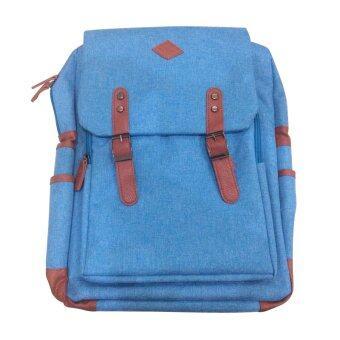 IDEAPAC LABTOP BAG รุ่น IDEA-016 กระเป๋าเป้ ใส่โน๊ตบุค แท๊ปเล็ต อื่นๆ กันน้ำ (สีฟ้า)