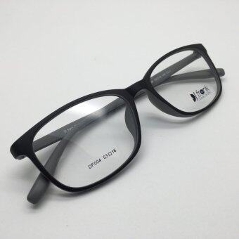DJ Frank TR-Flex กรอบแว่นตาเกาหลี เนื้อน่ม DF004 สีดำเทา
