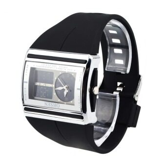 OHSEN Digital นาฬิกาข้อมือกันน้ำ นาฬิกาข้อมือแฟชั่นผู้ชาย
