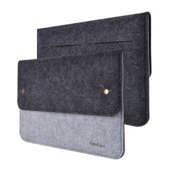 ใต้ 13นิ้วป้องกันโน้ตบุ๊กแท็บเล็ตพีซีกระเป๋าหิ้วกระเป๋าขนาดเล็กกระเป๋าถือปกสีเทา
