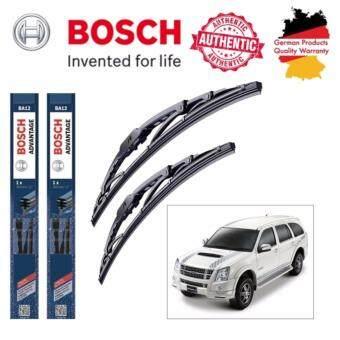 ใบปัดน้ำฝน Bosch Advantage ขนาด 19 นิ้ว และ 21 นิ้ว สำหรับ Isuzu Mu-7 Year 05-