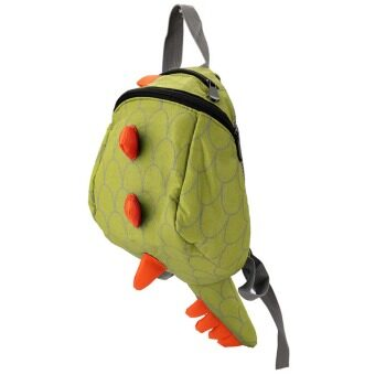 YBC Kids Cartoon Backpack Animals Dinosaurs Bag School Bags Green