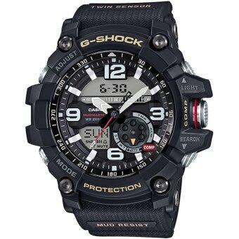 Casio G-Shock ผู้ชายสีดำยางรัดนาฬิกา GG-1 000.., 1 Amp