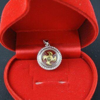 Pearl Jewelry จี้กังหัน นำโชค เพชรสวิส พร้อมสร้อยคอ LC209