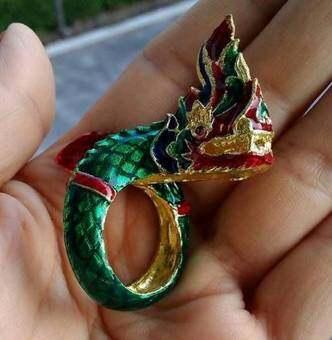 hinddแหวน พญานาคราชสีแดง