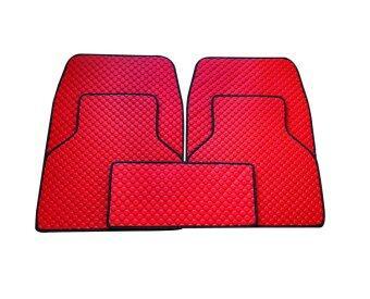 พรมปูพื้นกระดุม FAST-X2 (สีแดง)