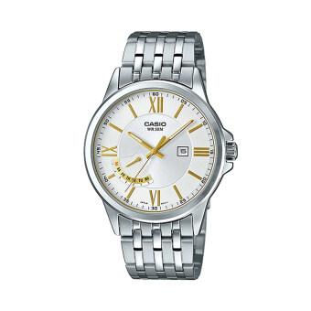 Casio นาฬิกาข้อมือผู้ชาย รุ่น MTP-E125D-7AVDF สีเงิน (Silver)