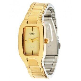 Casio Standard นาฬิกาข้อมือผู้หญิง สีทอง รุ่น LTP-1165N-9CRDF